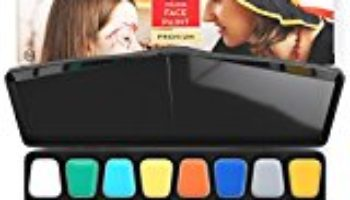 Arteza Face Paint 16 Colors Black Pallet [OFERTAS]
