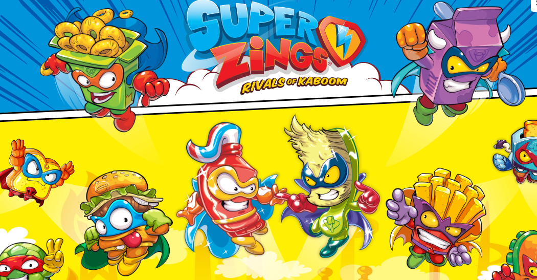 Superzings Rivals of Kaboom